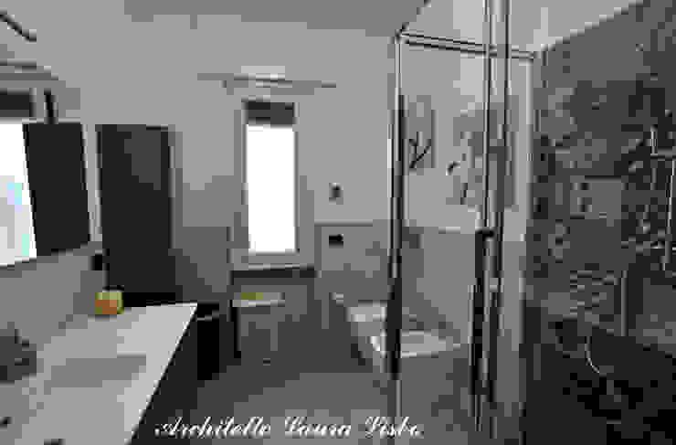 Nowoczesna łazienka od ARCHITETTO LAURA LISBO Nowoczesny