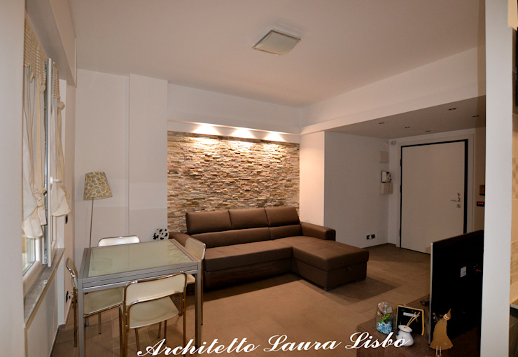 Modern Living Room by ARCHITETTO LAURA LISBO Modern