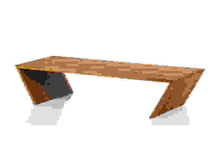 Mesa de Centro GRIS por LLUSSÁ Mobiliário de design Moderno Madeira maciça Multi colorido