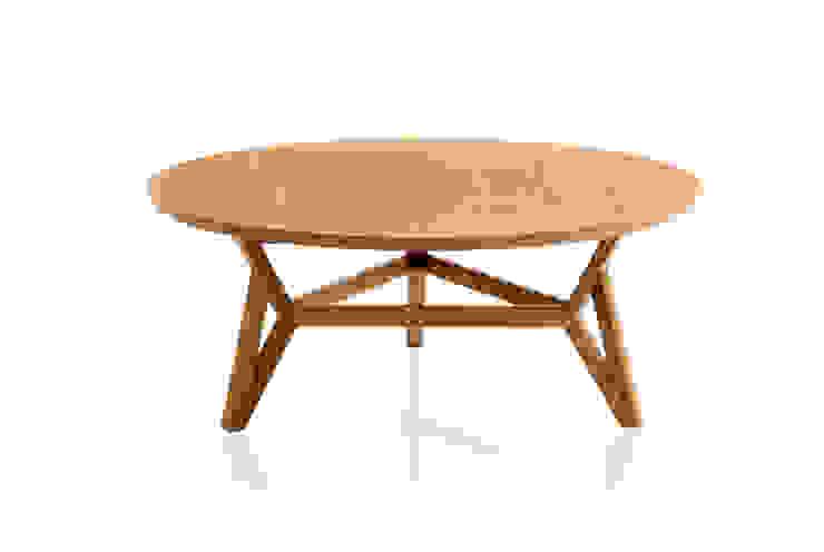 Mesa de Centro MELO´ por LLUSSÁ Mobiliário de design Moderno Madeira maciça Multi colorido