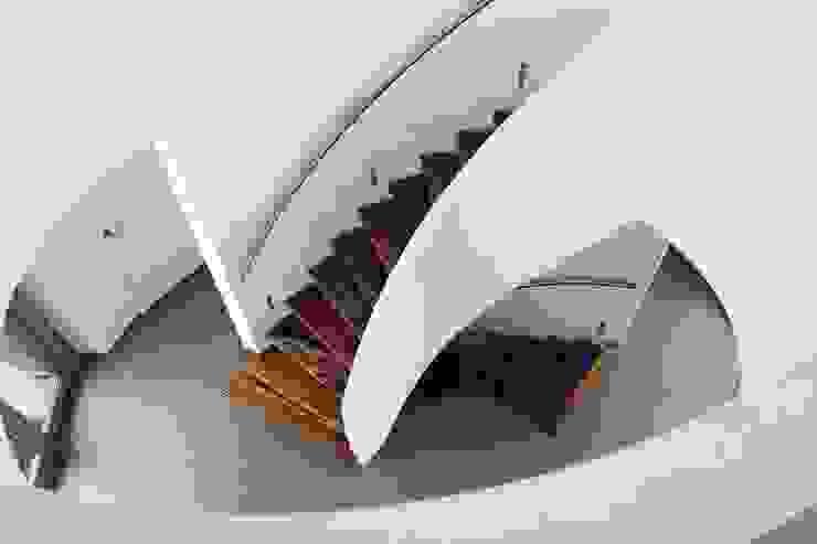 EeStairs® Wenteltrappen Moderne gangen, hallen & trappenhuizen van EeStairs | Stairs and balustrades Modern Hout Hout