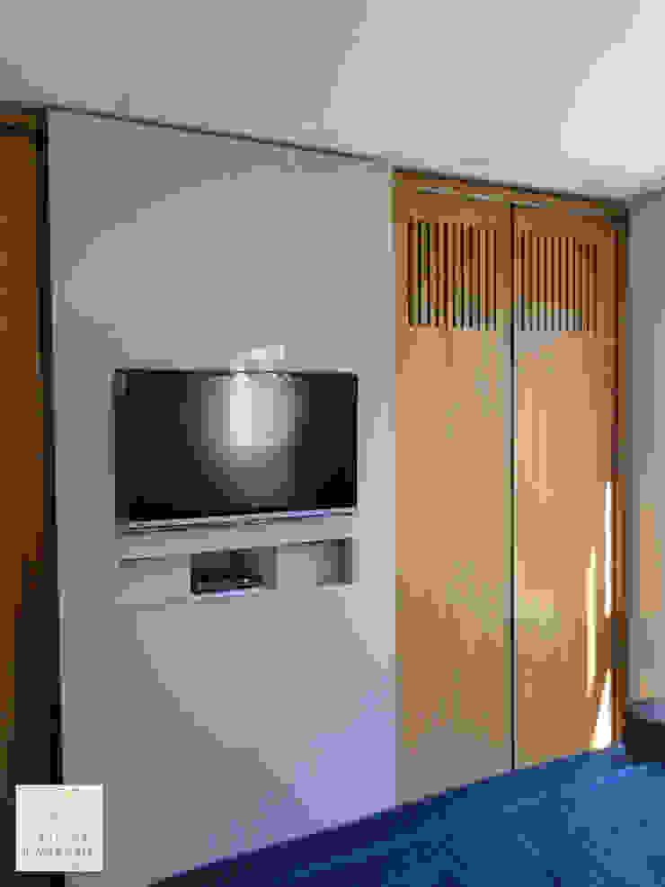 Suíte do Casal Quartos modernos por Tatiana Ravache Arquitetura Moderno MDF