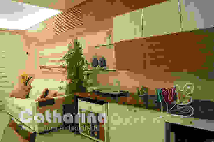 Apartamento Charitas - Niterói - RJ - 2014 Salas de estar modernas por Catharina Quadros Arquitetura e Interiores Moderno