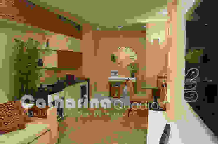 Apartamento Charitas – Niterói – RJ – 2014 Salas de estar modernas por Catharina Quadros Arquitetura e Interiores Moderno