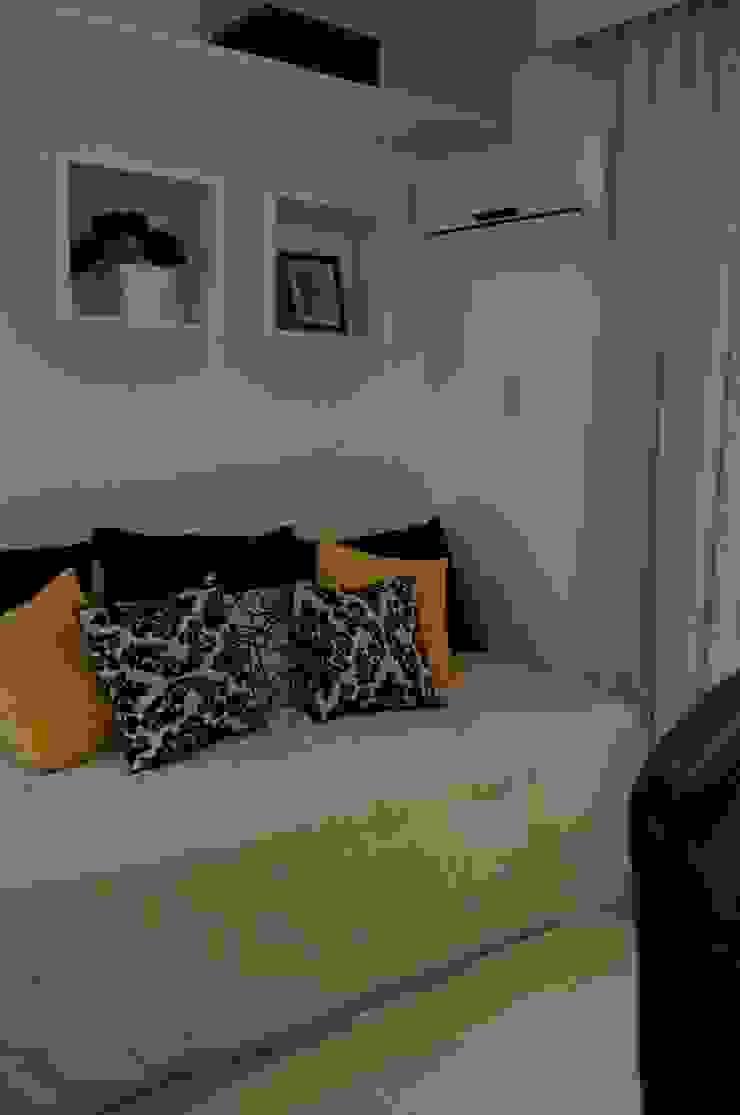 Apartamento Charitas – Niterói – RJ – 2014 Quartos modernos por Catharina Quadros Arquitetura e Interiores Moderno