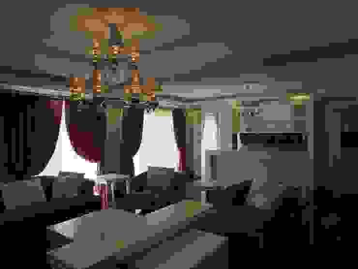 GARDEN PREMIUM VILLALARI – MOZAMBİK Eklektik Oturma Odası TELOS İÇ MİMARLIK VE TASARIM Eklektik