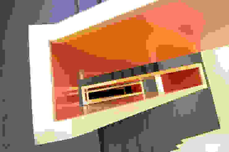 Mehrfamilienhaus Etzelstrasse 11, Einsiedeln Moderner Flur, Diele & Treppenhaus von Fröhlich Architektur AG Modern