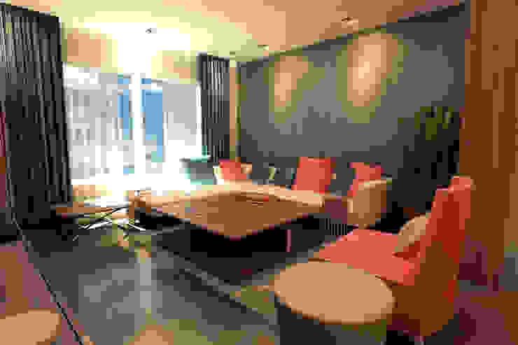 GARDEN MODERN VILLALARI - MOZAMBIK Modern Oturma Odası TELOS İÇ MİMARLIK VE TASARIM Modern