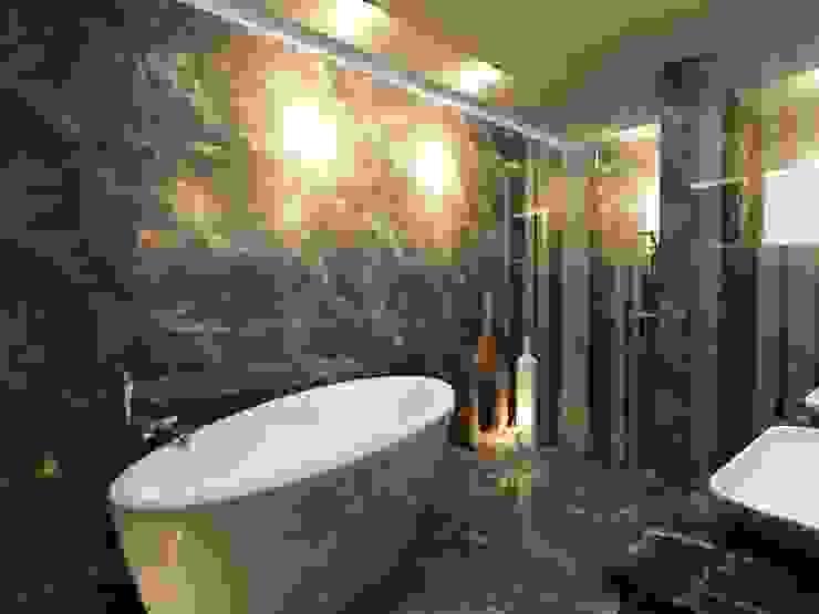 GARDEN MODERN VILLALARI - MOZAMBIK Modern Banyo TELOS İÇ MİMARLIK VE TASARIM Modern