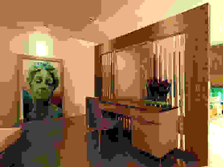 GARDEN MODERN VILLALARI - MOZAMBIK Modern Yatak Odası TELOS İÇ MİMARLIK VE TASARIM Modern