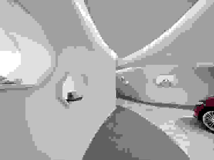 FORD VIGNALE CONCIERGE LOUNGE Salas multimedia de estilo minimalista de Ruiz Velázquez Minimalista