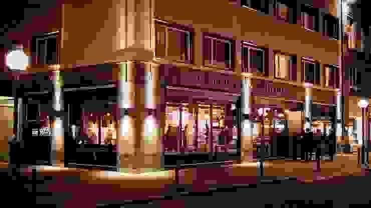 Löweneck Restaurant 根據 Studio Frey 現代風