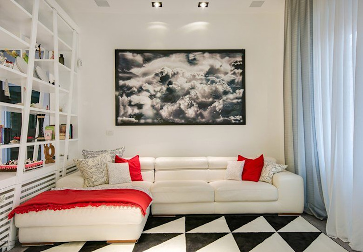 SERENA ROMANO' ARCHITETTO Modern living room