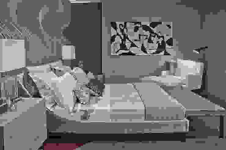 Morar com Arte Quartos modernos por Yara Mendes Arquitetura e Decoração Moderno