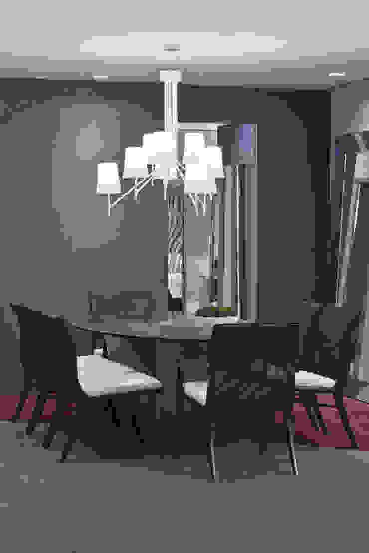 Morar com Arte Salas de jantar modernas por Yara Mendes Arquitetura e Decoração Moderno