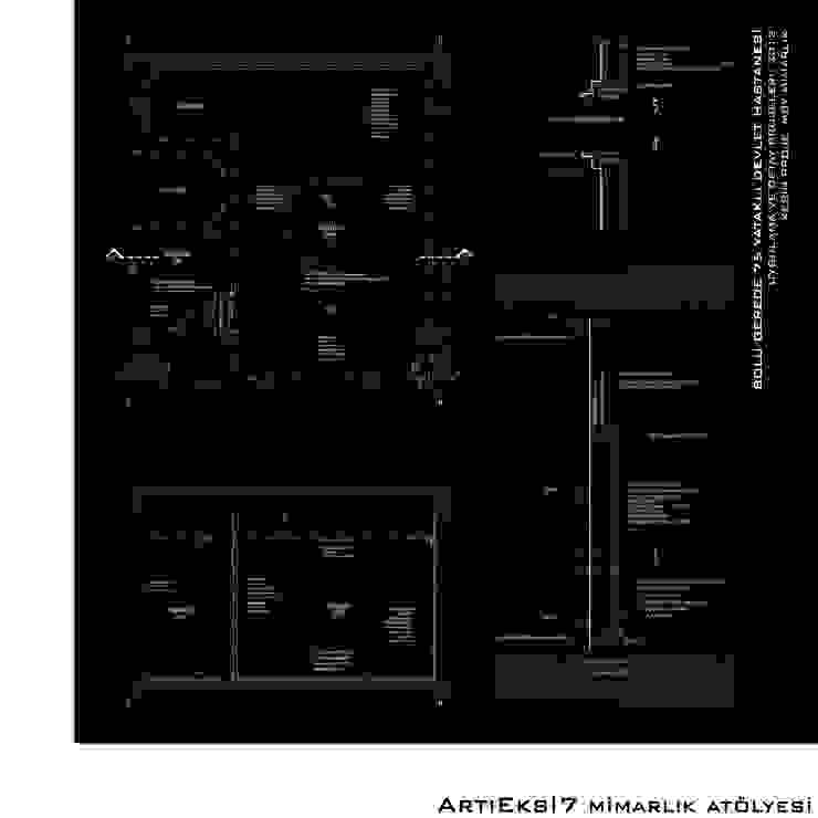 Bolu Gerede 75 Yataklı Devlet Hastanesi Modern Hastaneler ArtıEksi7 Mimarlık Atölyesi Modern