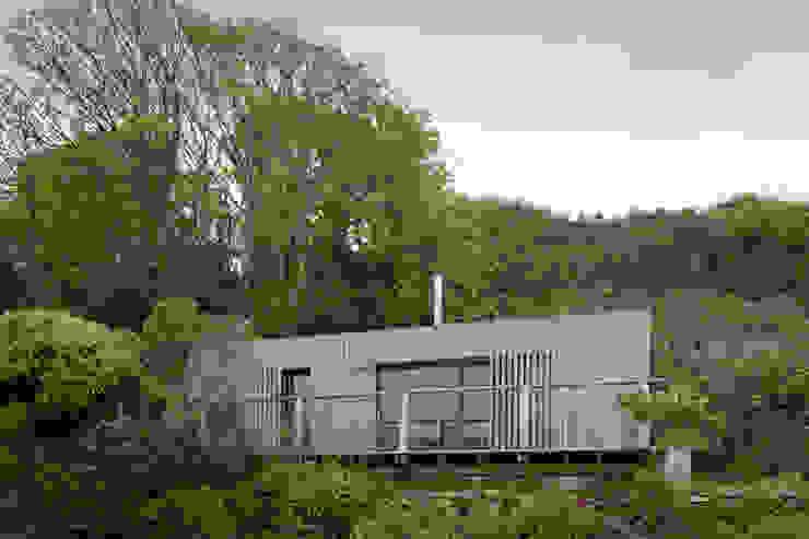 Дома в стиле модерн от ecospace españa Модерн Дерево Эффект древесины