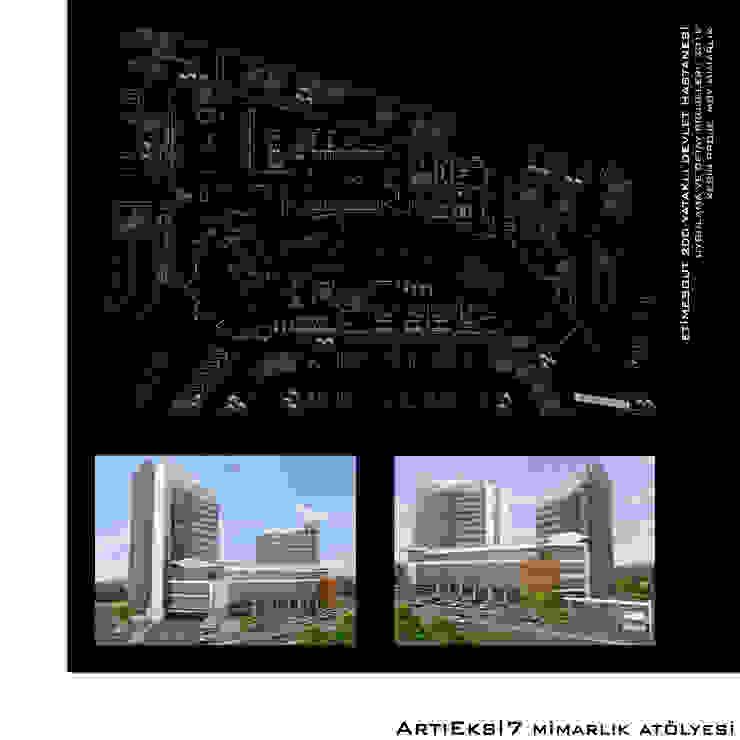 Etimesgut 200 Yataklı Devlet Hastanesi ArtıEksi7 Mimarlık Atölyesi Modern Hastaneler