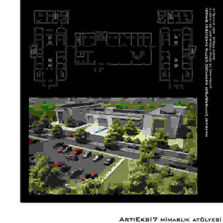 Hakkari Üniversitesi Eğitim Fakültesi Modern Okullar ArtıEksi7 Mimarlık Atölyesi Modern