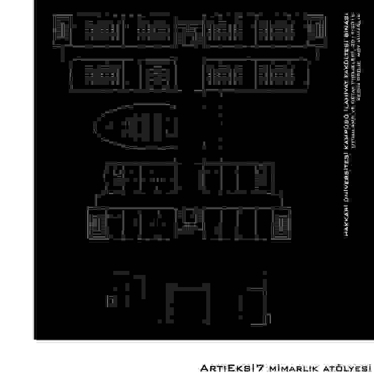Hakkari Üniversitesi İlahiyat Fakültesi Modern Okullar ArtıEksi7 Mimarlık Atölyesi Modern