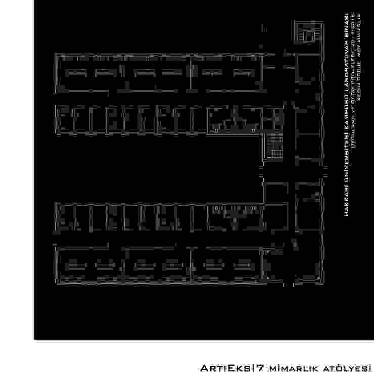 Hakkari Üniversitesi Laboratuvar Binası Modern Okullar ArtıEksi7 Mimarlık Atölyesi Modern