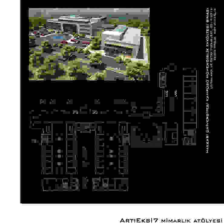 Hakkari Üniversitesi Mühendislik Fakültesi Modern Okullar ArtıEksi7 Mimarlık Atölyesi Modern