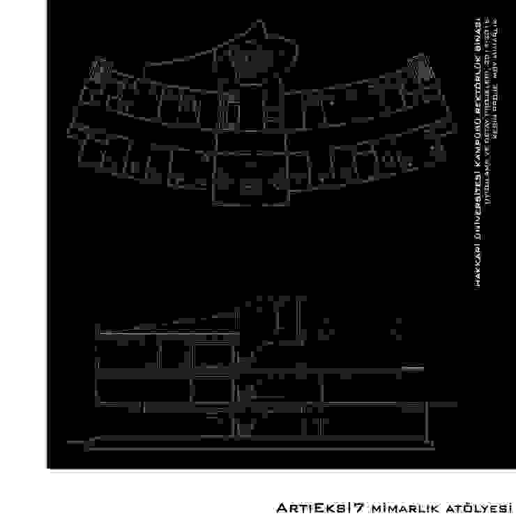 Hakkari Üniversitesi Rektörlük Modern Okullar ArtıEksi7 Mimarlık Atölyesi Modern