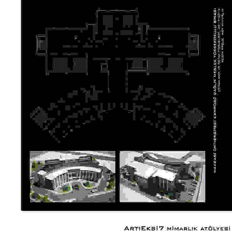 Hakkari Üniversitesi Sağlık Meslek Yüksek Okulu Modern Okullar ArtıEksi7 Mimarlık Atölyesi Modern