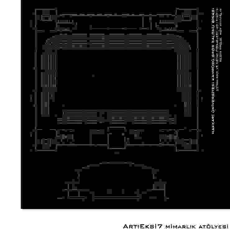 Hakkari Üniversitesi Spor Salonu Modern Okullar ArtıEksi7 Mimarlık Atölyesi Modern