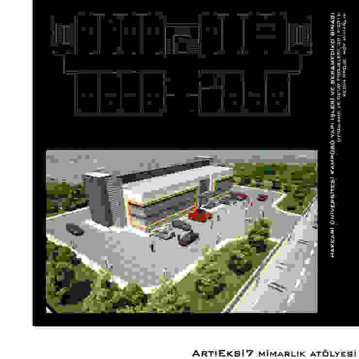 Hakkari Üniversitesi Yapı İşleri Modern Okullar ArtıEksi7 Mimarlık Atölyesi Modern