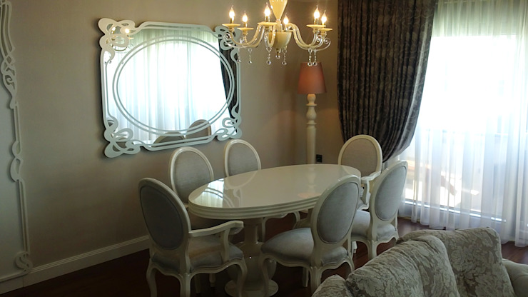 TELOS İÇ MİMARLIK VE TASARIM Eclectic style dining room