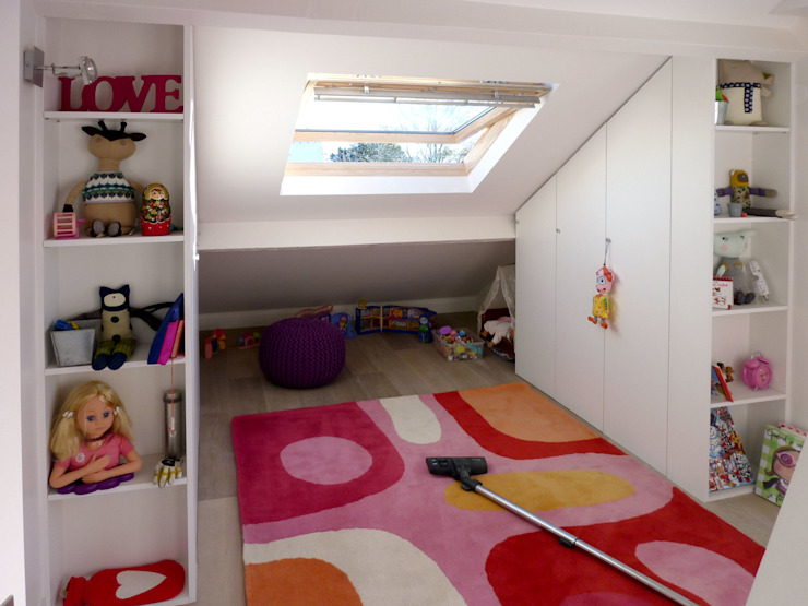 Olivier Stadler Architecte Modern nursery/kids room