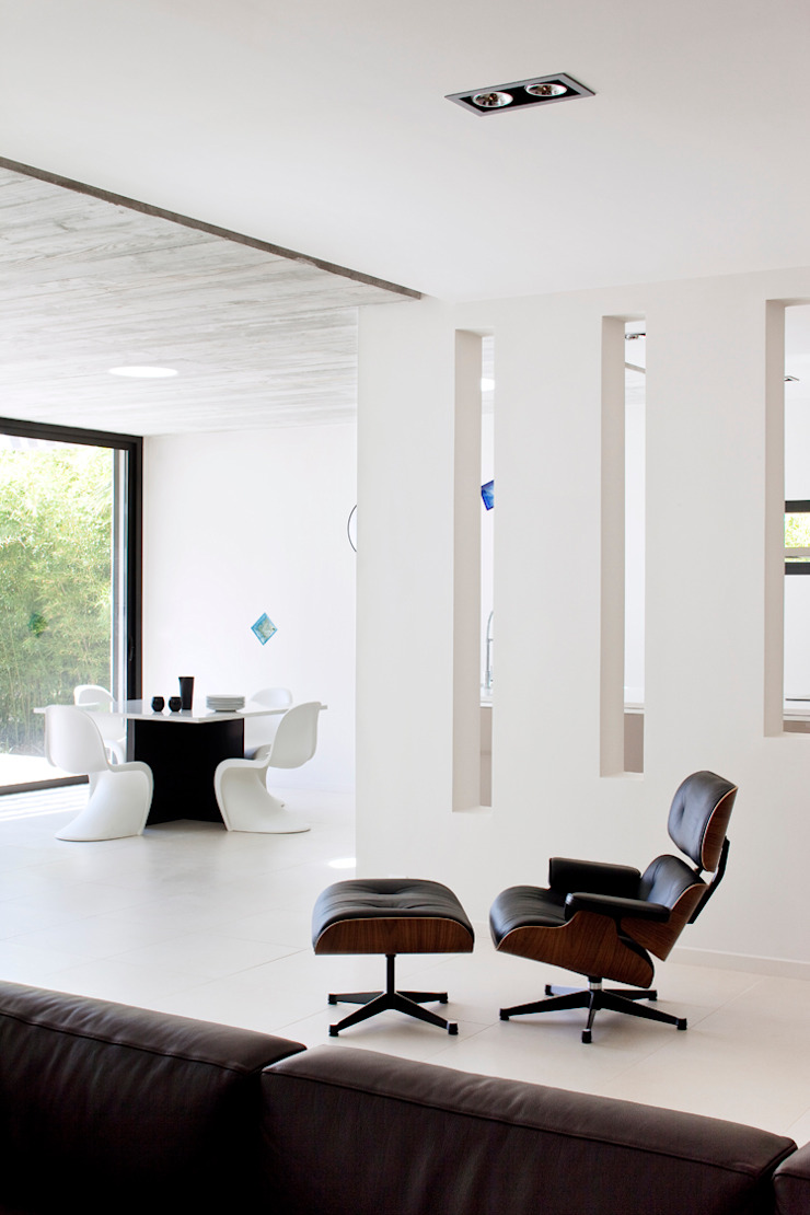 frederique Legon Pyra architecte Modern living room