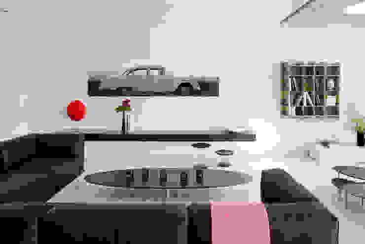 Villa C1 frederique Legon Pyra architecte Salon moderne