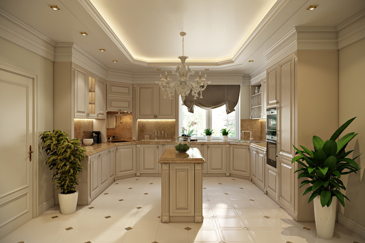 homify Kitchen Wood Beige