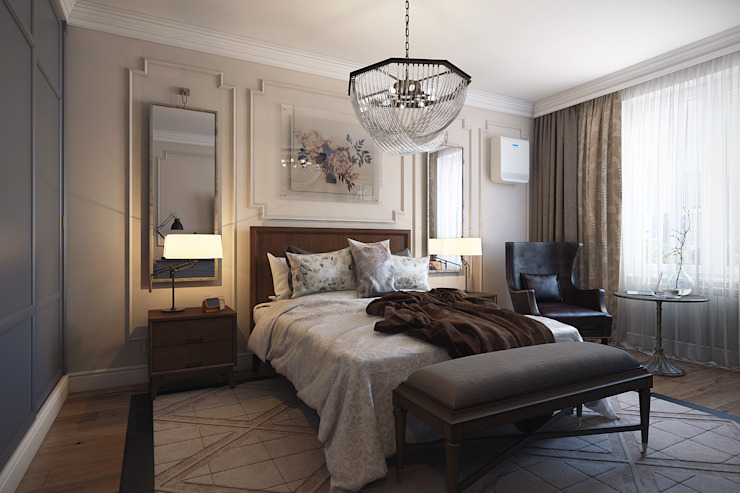 Eclectic style bedroom by homify Eclectic Wood Wood effect