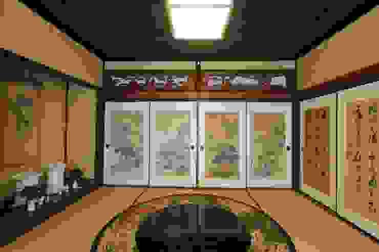 伝統 和室オクノマ クラシックデザインの 多目的室 の 一級建築士事務所 さくら建築設計事務所 クラシック
