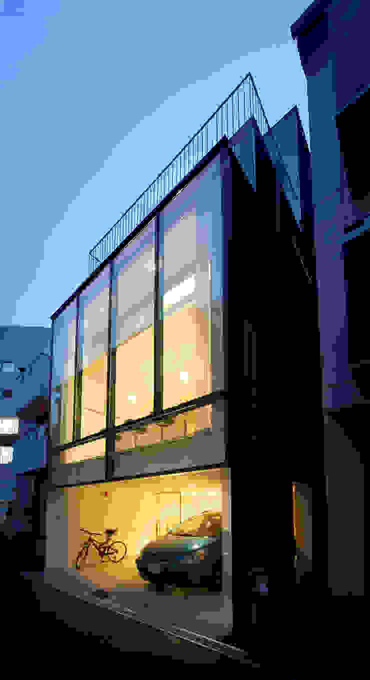 外観 モダンな 家 の Mimasis Design/ミメイシス デザイン モダン