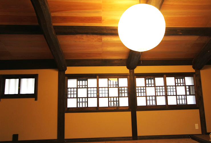 office 建具 クラシックデザインの 書斎 の 一級建築士事務所 さくら建築設計事務所 クラシック