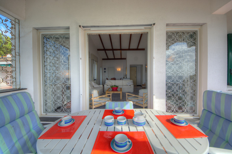 Emilio Rescigno - Fotografia Immobiliare Balcones y terrazas de estilo mediterráneo