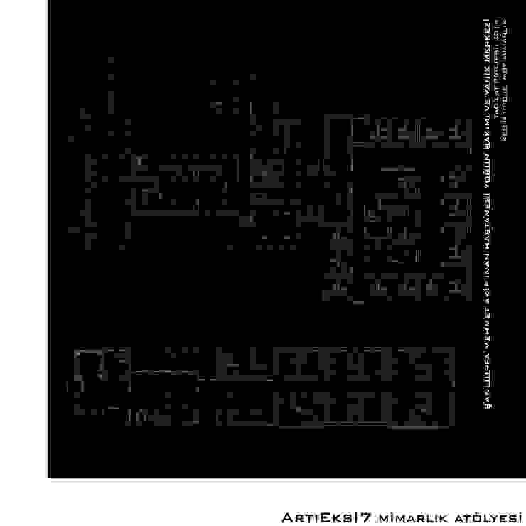 Şanlıurfa Mehmet Akif İnan Hastanesi Yoğun Bakım ve Yanık Merkezi Modern Hastaneler ArtıEksi7 Mimarlık Atölyesi Modern