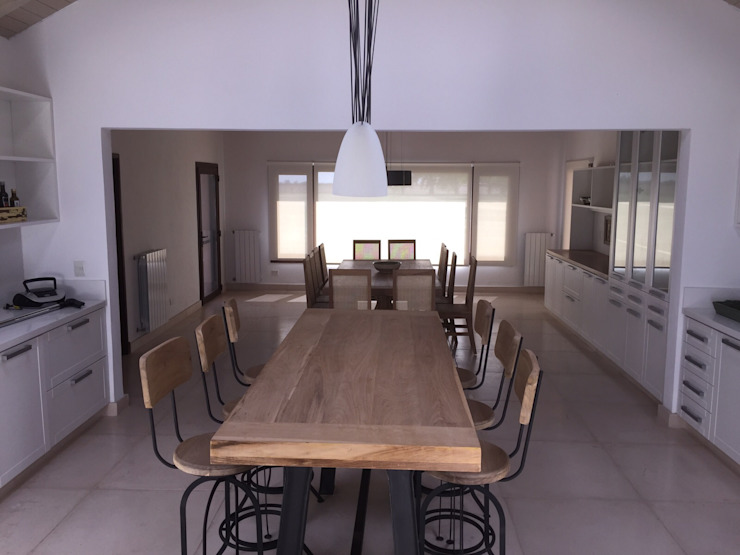 BAIRES GREEN KitchenTables & chairs Solid Wood Wood effect