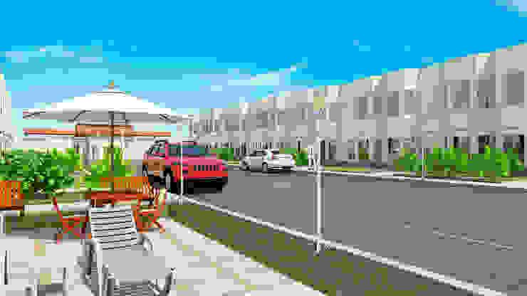 Proyecto Villa Saamar. Casas estilo moderno: ideas, arquitectura e imágenes de Arq. Susan W. Jhayde Moderno