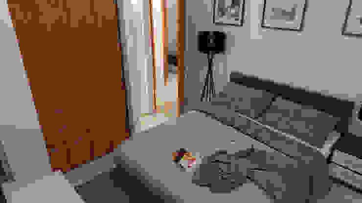 Proyecto Villa Saamar Dormitorios de estilo moderno de Arq. Susan W. Jhayde Moderno