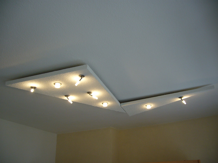 Lichtmodul New Wave, 2 teilig Hardos-Lichtdesign WohnzimmerBeleuchtung Holzwerkstoff