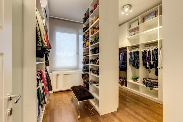homify Modern style dressing rooms
