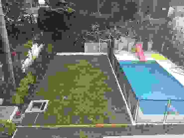 pequeños espacios bien aprovechados Jardines modernos: Ideas, imágenes y decoración de BAIRES GREEN Moderno