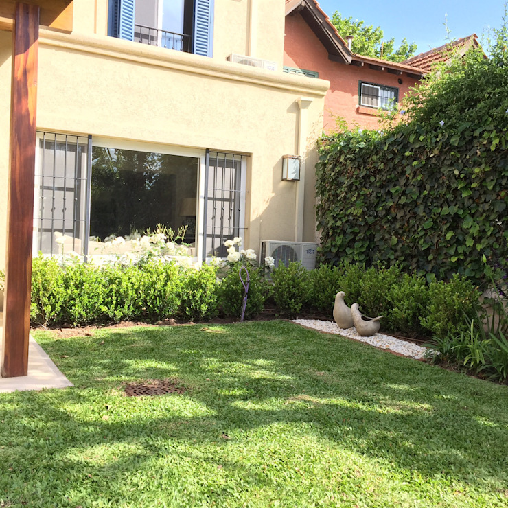 pequeños epsacios. lindas vistas. Jardines modernos: Ideas, imágenes y decoración de BAIRES GREEN Moderno