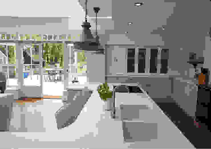 Kitchen Project 2A Design CocinaEstanterías y gavetas Derivados de madera Gris