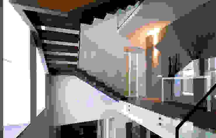 Pasillos, vestíbulos y escaleras de estilo moderno de Vincenzo Leggio Architetto Moderno